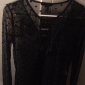 Forever 21 blouse top size medium